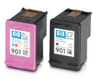 The HP officejet 4500 wireless printer is on sale in Staple