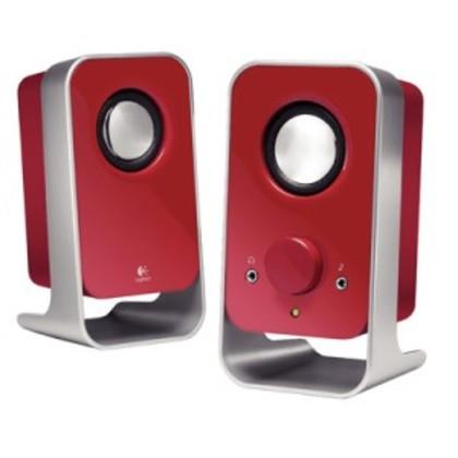 Logitech LS11 2.0 Stereo Speaker-Red