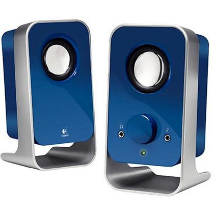 Logitech LS11 2.0 Stereo Speaker-Blue
