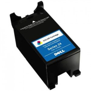 Dell series 24 color new compatible ink cartridge High Yield