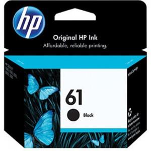 HP 61 Black OEM ink cartridge