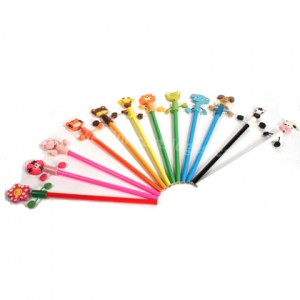 12 colors Cartoon Animal Pencil