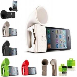 iPhone 4 speaker amplifier horn stand