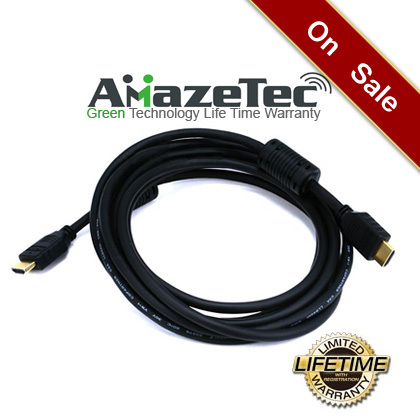 Amazetec 10Ft HDMI to HDMI Cable w/Ferrite