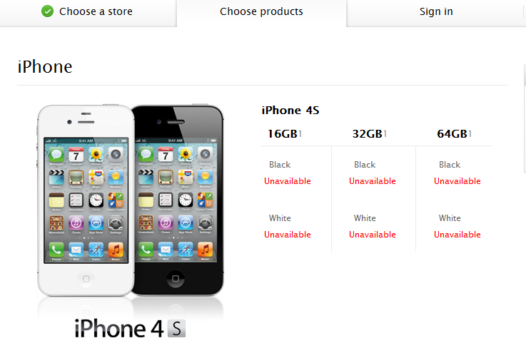 How to reserve iPhone 4s at apple store- a completed ...