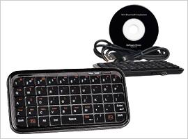 Bluetooth v2.0 Wireless Mini Keyboard- $19.99