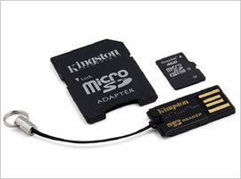Kingston Mobility 4GB Multi Kit-$9.99