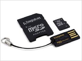 Kingston Mobility 4GB Multi Kit-$9.99