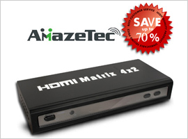4x2 HDMI Powered Switch-$44.99