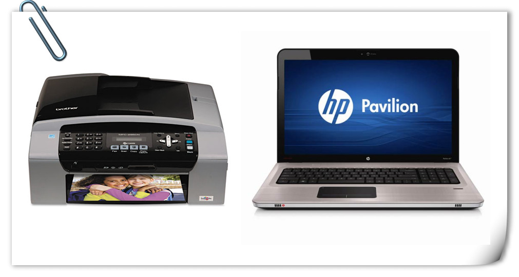 Printer Brother MFC-295CN & HP laptop dv7-4260