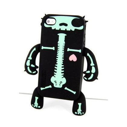 Skeleton Design Silicone Case-$12.99
