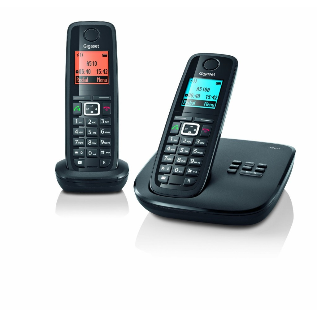 siemens gigaset a510a cordless phone stylish smart and. Black Bedroom Furniture Sets. Home Design Ideas