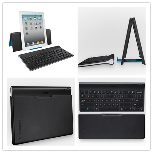 how to connect logitech wireless keyboard to ipad