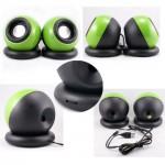 Amazing Magic Ball Portable USB Stereo 2.0 Speaker