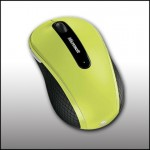 Microsof D5D Wireless Mobile 4000 Mouse Green