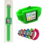 iPod Nano 6 Wirst Watch Band Silicone Case