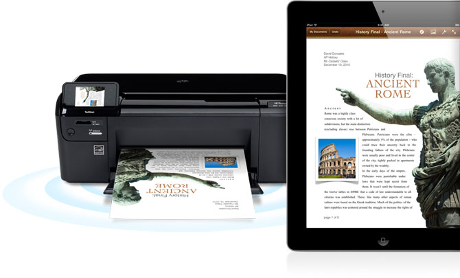 How to Print From Your iPad 2