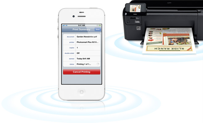 How to Print From iPhone 4