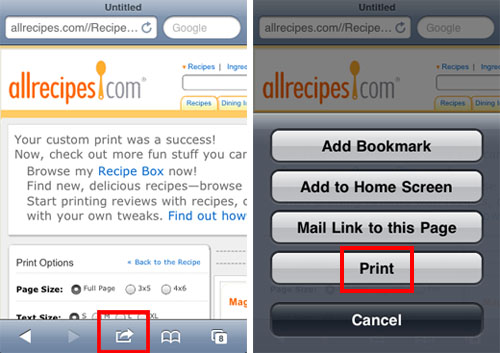 How to Print From Your iPhone