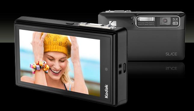 KODAK SLICE Touchscreen Camera / Black