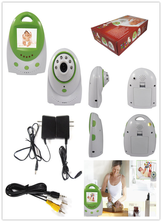 LCD Handheld Wireless Baby Monitor