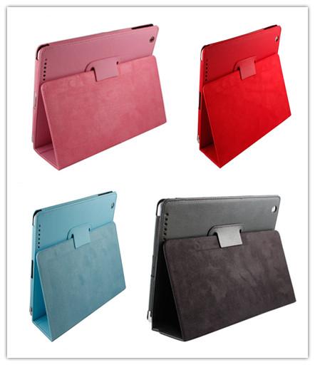 PU Leather Case for the New iPad & iPad 2