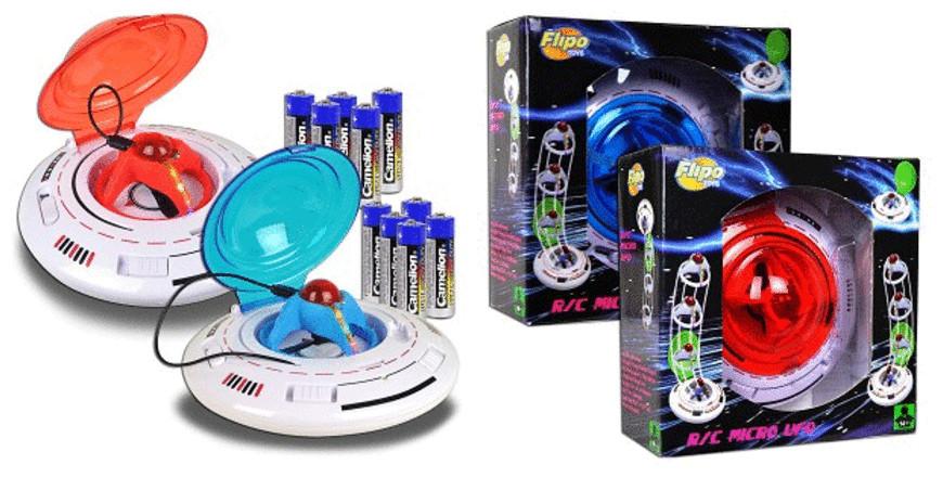 """2.5"""" Flipo Remote Control Micro UFO"""