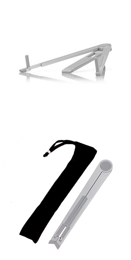 Hight Quality Foldable Metal Holder Stand for iPad 1 & 2 /Samsung Galaxy Tab P1000/ 7-10 inch MID/ Tablet..