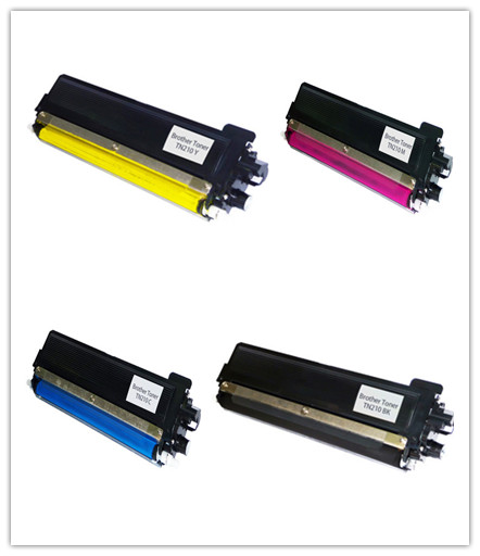 Brother TN-210 BK/C/M/Y New Compatible Toner Cartridge Combo Set