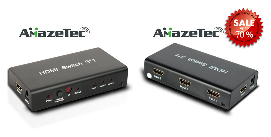 3x1 HDMI switch