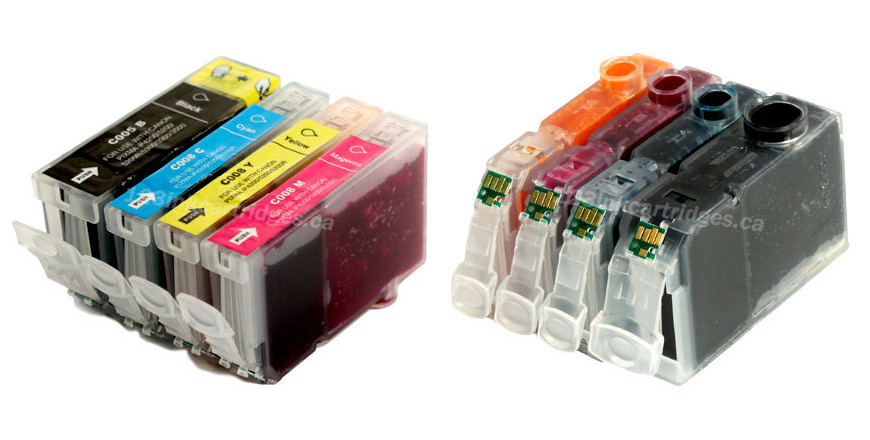 canon pgi 5bk+cli8 ink cartridges