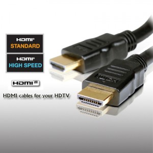 High Quality 6Ft/10Ft/15Ft HDMI Cable w/Ferrite (Gold Plated Connectors) - Combo Set