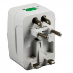 Travel Universal AC Adaptor All in One UK US AU EU CA Multi Plug