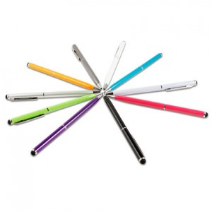 2-in-1 Ballpoint Pen + Capacitive Touchpad Stylus Pen