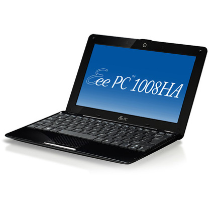 ASUS Eee Pc 1008HA Seashell Netbook