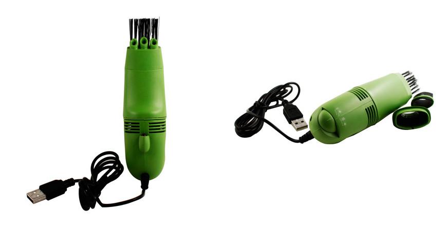Mini USB Vacuum Cleaner (Random Color)