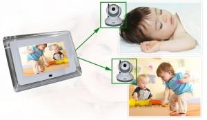 "BM-9070D2 Wireless 7"" LCD Digital Baby Monitor"