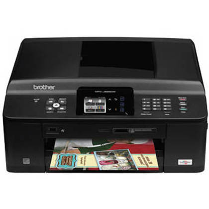 Brother MFC-J625dw Color Photo Printer w/Scanner,Copier&Fax(free shipping)