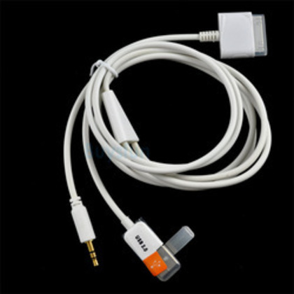 USB Audio Cable for iPhone/ iPod