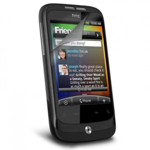 Screen protector for HTC Wildfire