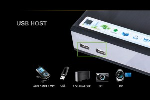 HM-R200S PRO Wireless 3D HD Media Player 1080P w/ USB3.0 /YPBPR / SD /Internal HDD/BD ROM/ HDMI1.4 / SPDIF / AV/LED panel display