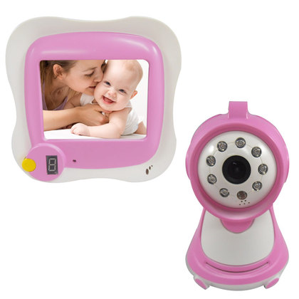 """BM-880 3.5"""" LCD Digital Wireless Baby Monitor ,2.4GHz ,with 300KP,Night Vision Surveillance Camera"""