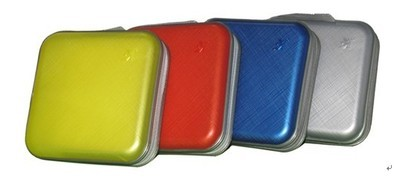 Quality Hard Plastic Shielded CD/DVD Media Storage Bag Holds 40pcs