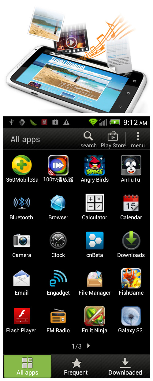 ,MTK6575 One X. Android 4.0 , 1.0GHz ,4.7 inch HD touch screen