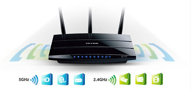 TP-Link TL-WDR4300 N750 Dual-Band Wireless Router