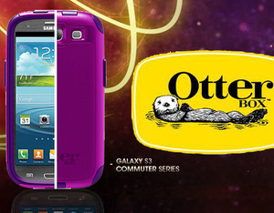 Samsung Galaxy S3 Otterbox™ Commuter seires Boom, Purple