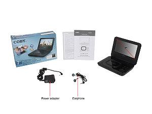 "Coby TFDVD7011 7"" Portable DVD/CD/MP3 Player"