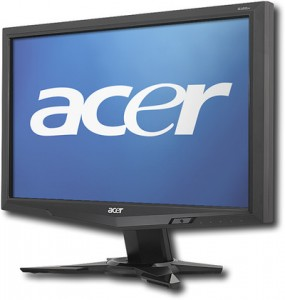 """Acer 18.5"""" Widescreen Flat-Panel LCD Monitor"""