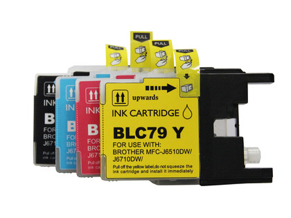 Brother LC79 compatible ink cartridges value pack
