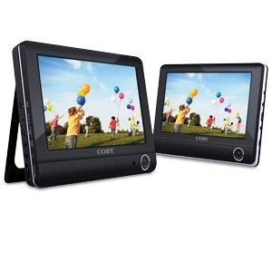 "9"" Dual Screen Tablet Portable DVD Player"